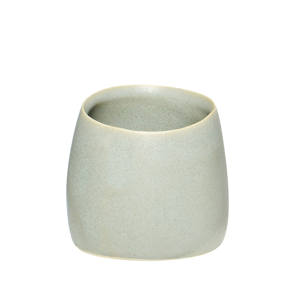 Billede af HÜBSCH Keramik krus, mat grå