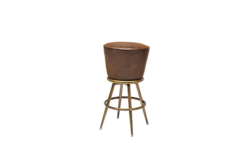 kare design – Kare design lady rock barstol - brunt stof fra boboonline.dk