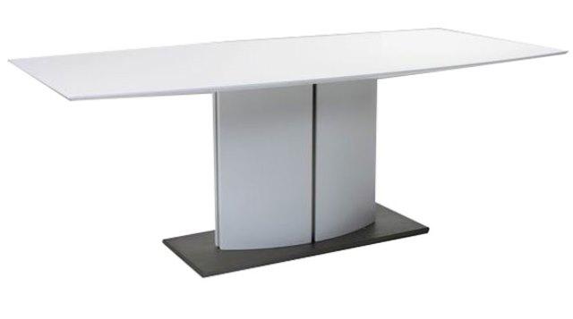 Image of   Basella spisebord - hvid