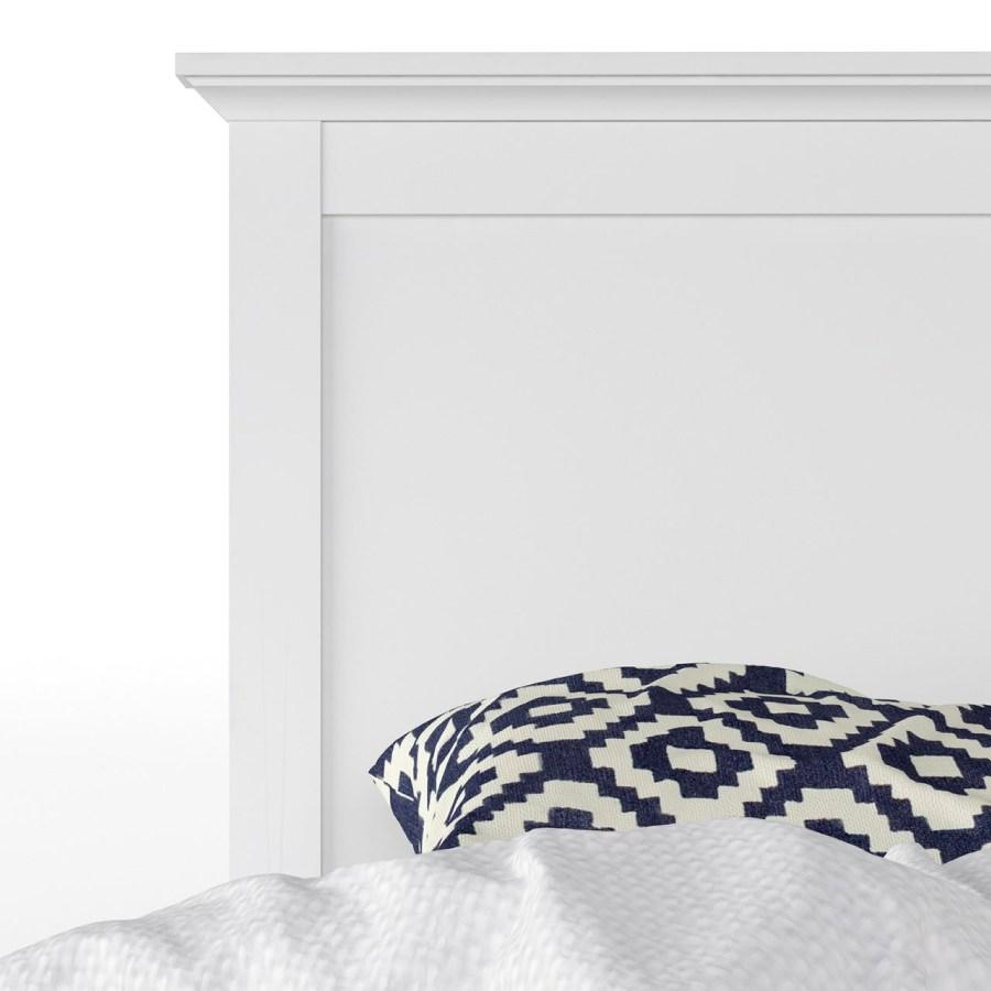 Fremragende Hvid sengeramme 140x200 - Køb en hvid Paris seng online her FE44