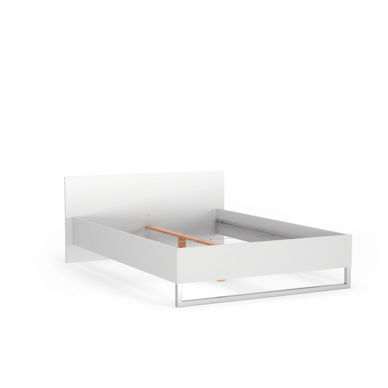 Style sengeramme - hvid (160x200)