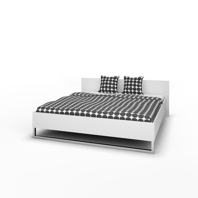 Style sengeramme - hvid 180x200 thumbnail