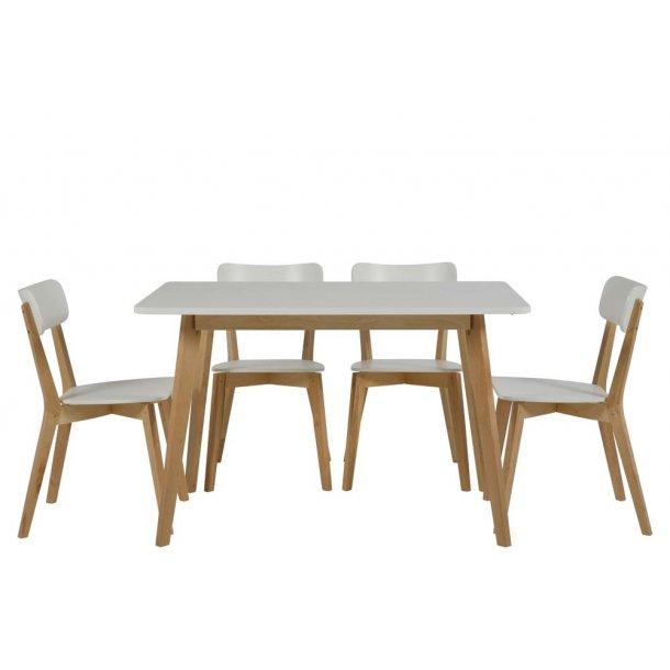 Raven spisebord - 80x120 natur