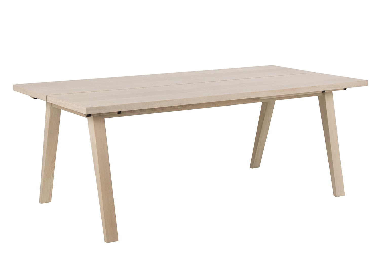 Image of   A-Line plankebord - natur egetræsfinér/egetræ, rektangulær (200x95), m. udtræk