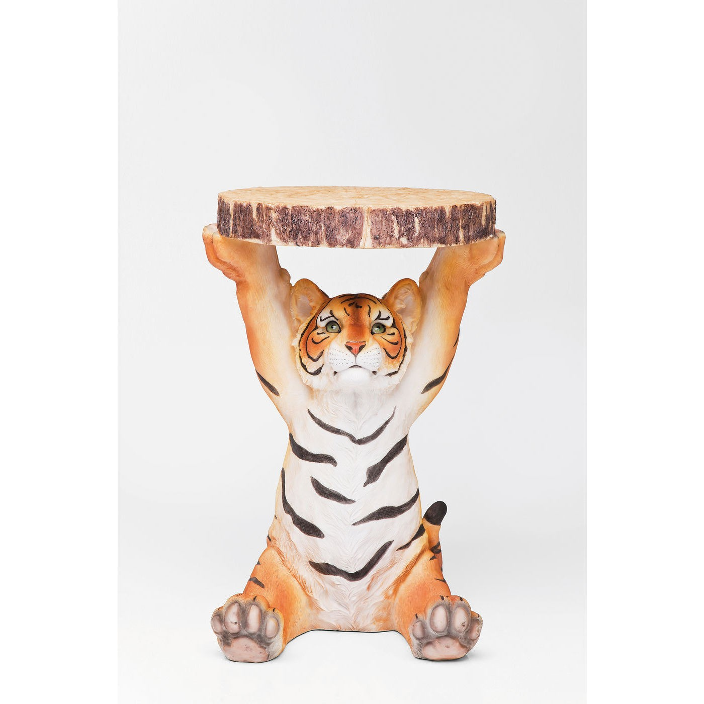 Image of   KARE DESIGN Sidebord, Animal Tiger Ø35cm