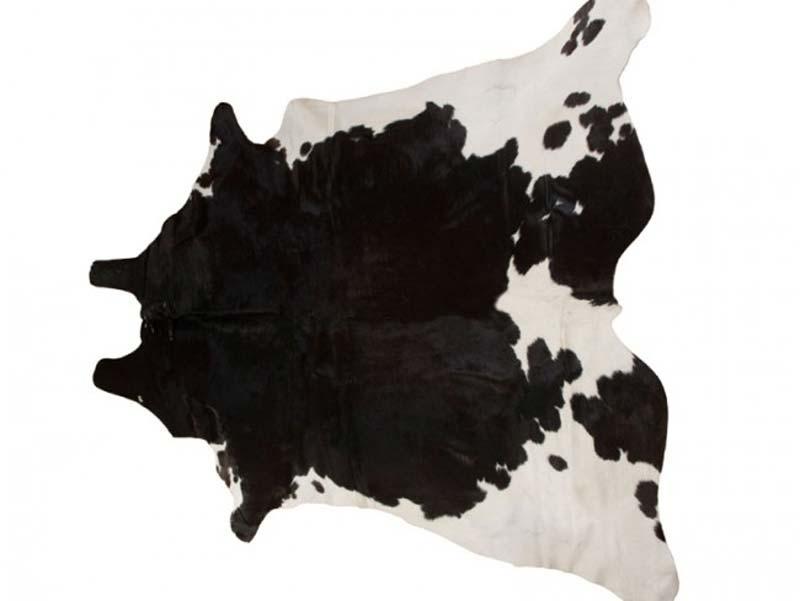 Billede af Cow skin natural. Unik farve.