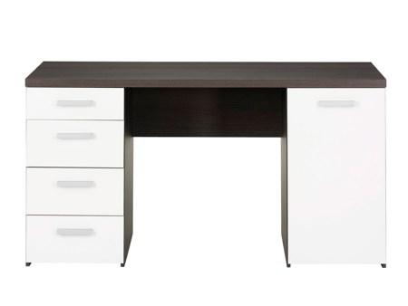 Image of   Function Plus skrivebord med 4 skuffer og skab