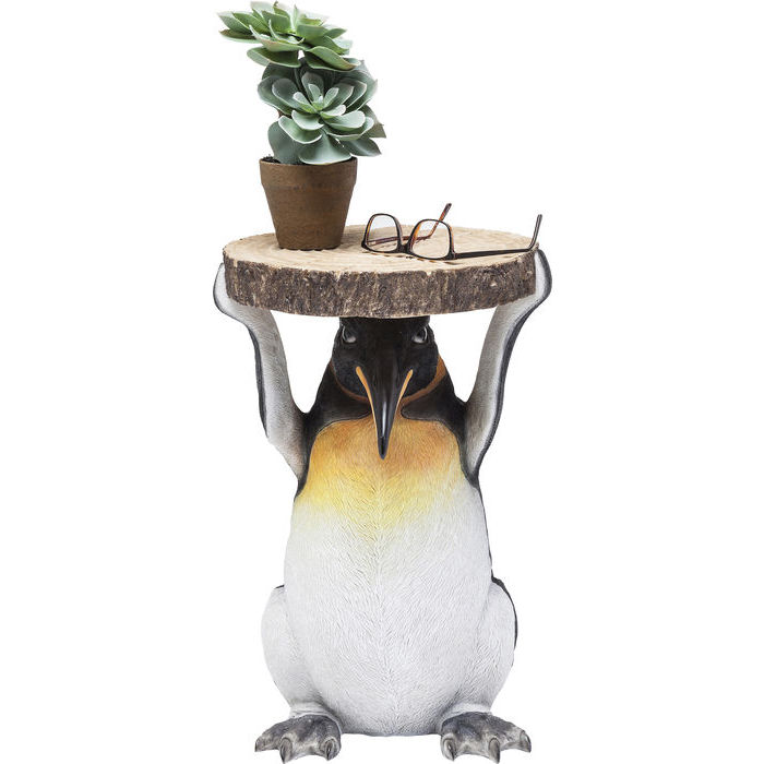 Image of   KARE DESIGN Sidebord, Animal Mr. Penguin Ø33cm