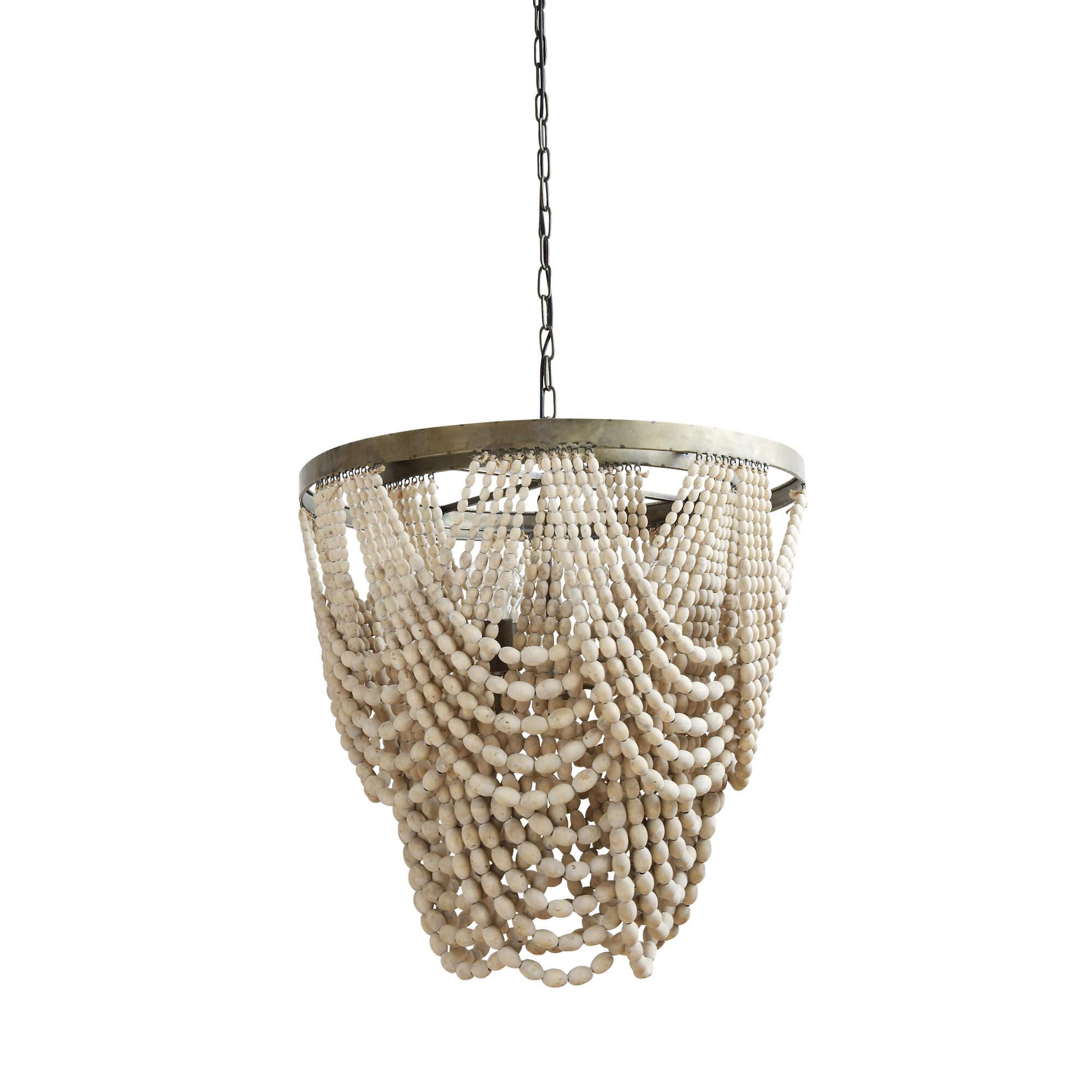 Creative Collection Creative Collection Fleur De Sel Loftlampe - Natur Træ Belysning