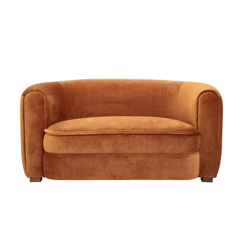 CREATIVE COLLECTION Malala sofa - brun polyester