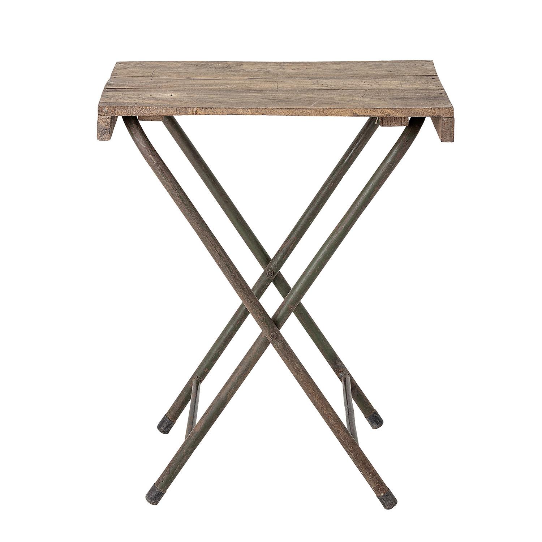 creative collection – Creative collection bakkebord - natur genbrugstræ og jern (67x50) på boboonline.dk