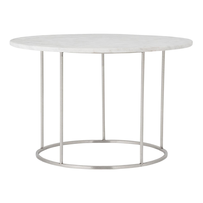 BLOOMINGVILLE Bera sofabord - hvid marmor og stål