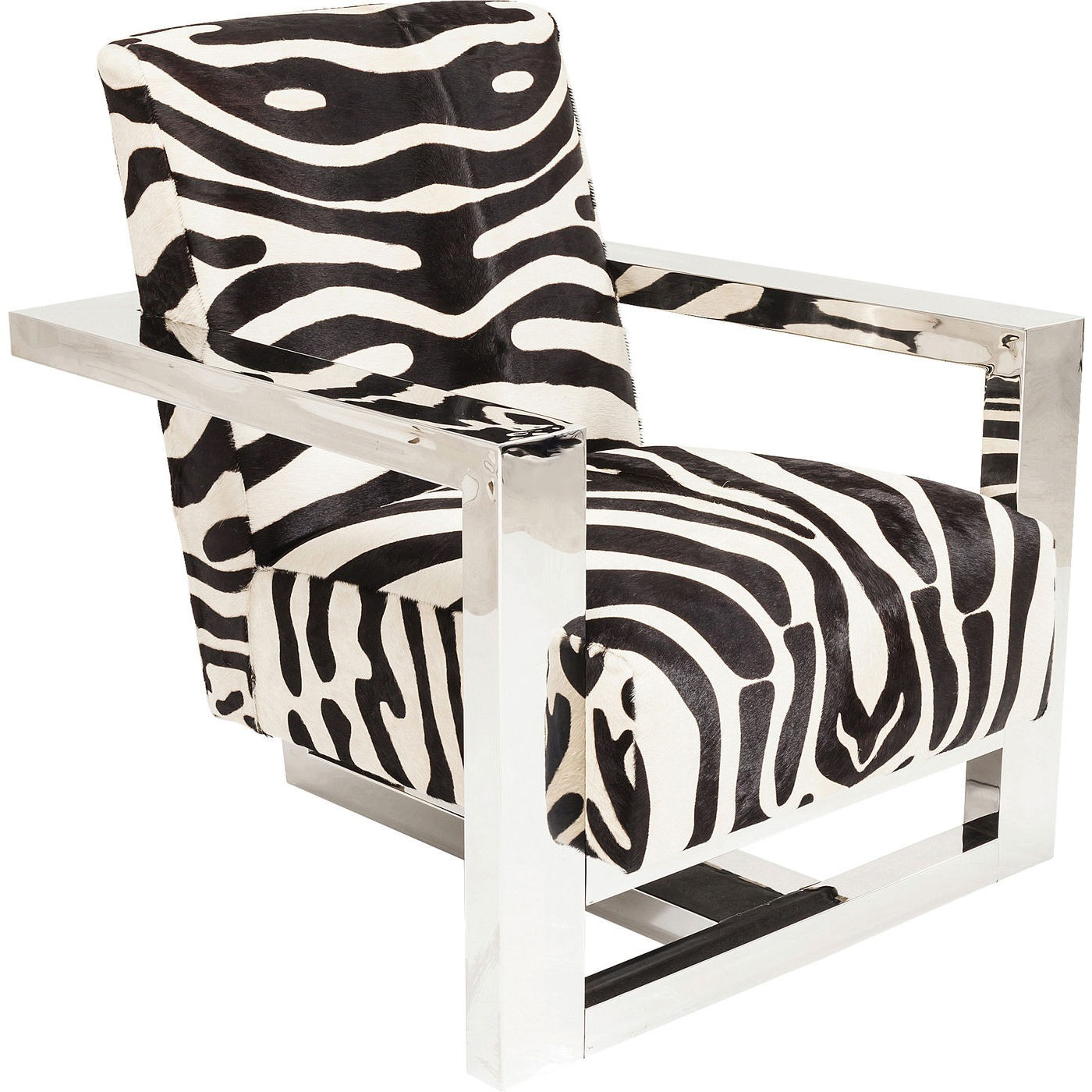 kare design Lænestol sessel wildlife zebra fra boboonline.dk