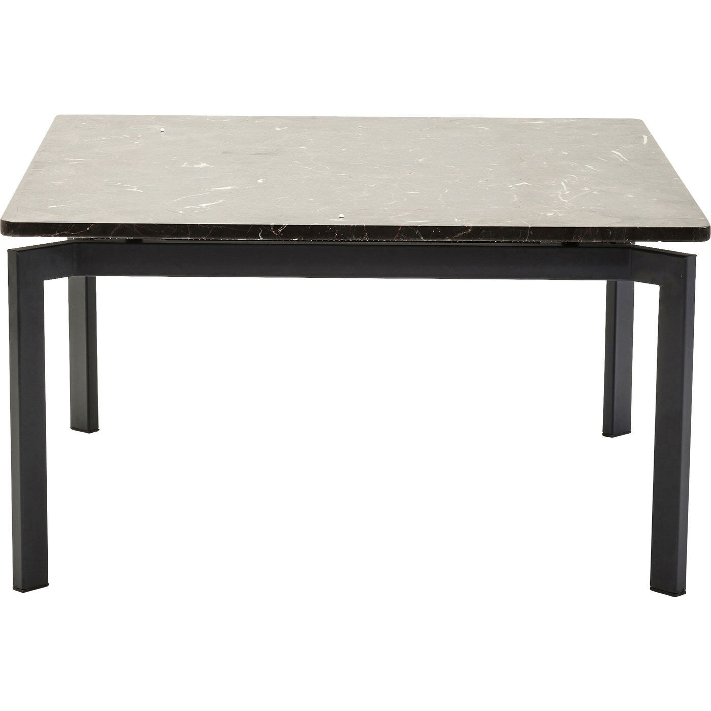 KARE DESIGN Soul sofabord - sort marmor, 80x80