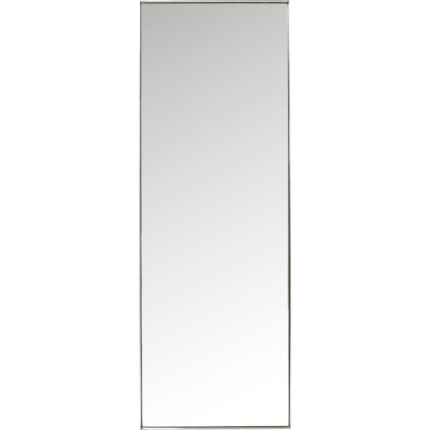 Spejl Curve Rektangulær Rustfrit Stål 200 x 70 cm