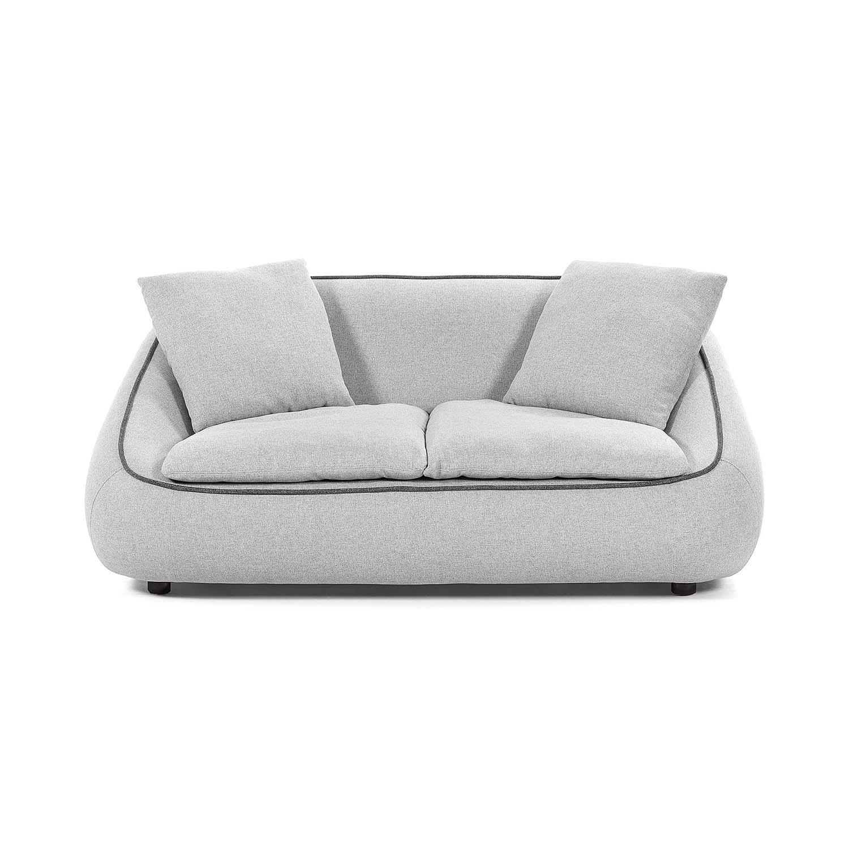 laforma – Laforma safira 2 pers. sofa - lysegrå stof fra boboonline.dk