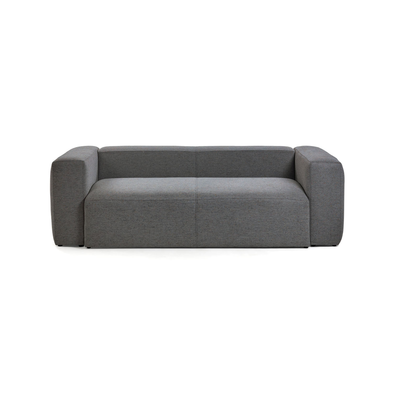 laforma – Laforma blok 2 pers. sofa - mørkegrå stof fra boboonline.dk