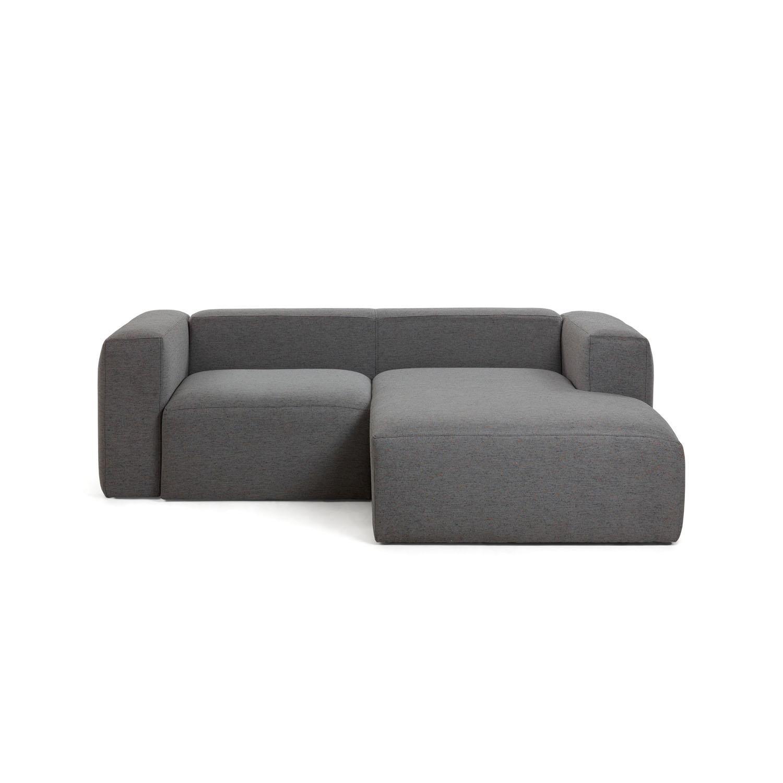 laforma Laforma blok 2 pers. sofa m. højre chaiselong - stof på boboonline.dk