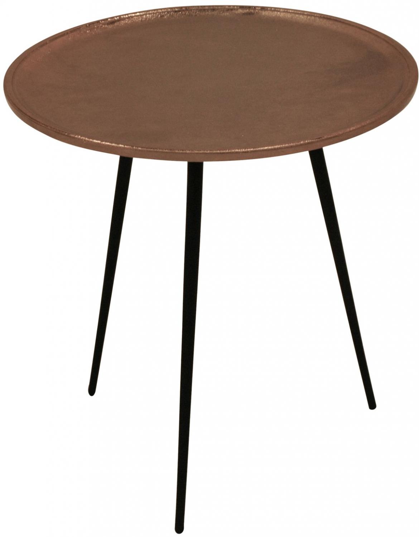 Billede af CANETT Needle sidebord - Kobber Ø50 cm