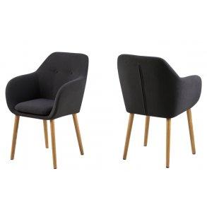 Spisebordsstole med armlæn Gratis Fragt. Køb med armlæn nu