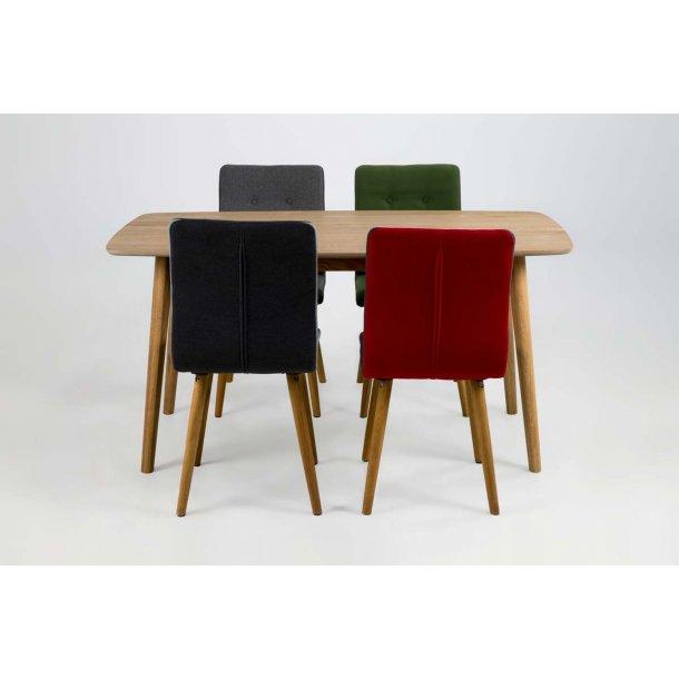 Frida spisebordsstol - rød