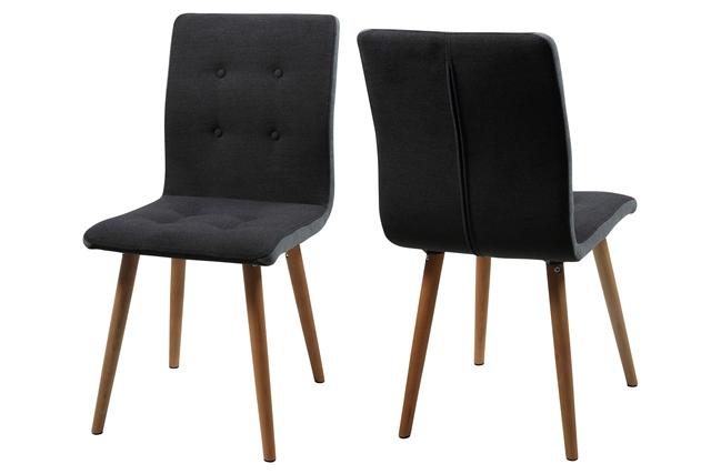 Frida spisebordsstol - mørkegrå