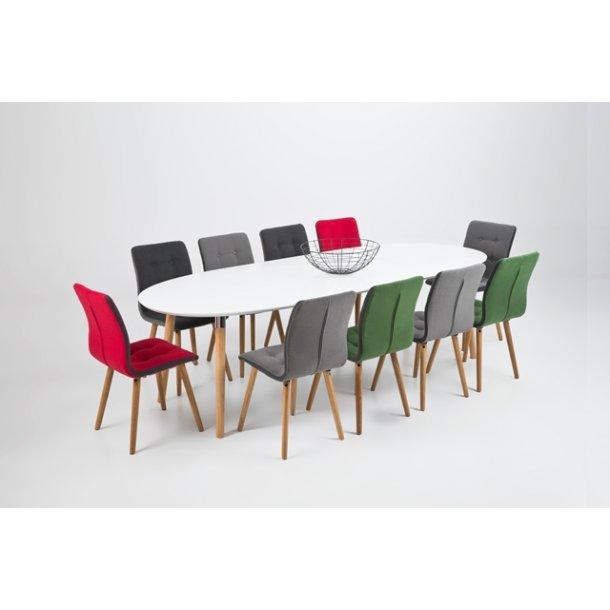 Frida spisebordsstol - lysegrå