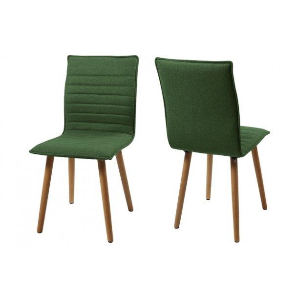 Karla spisebordsstol - grøn