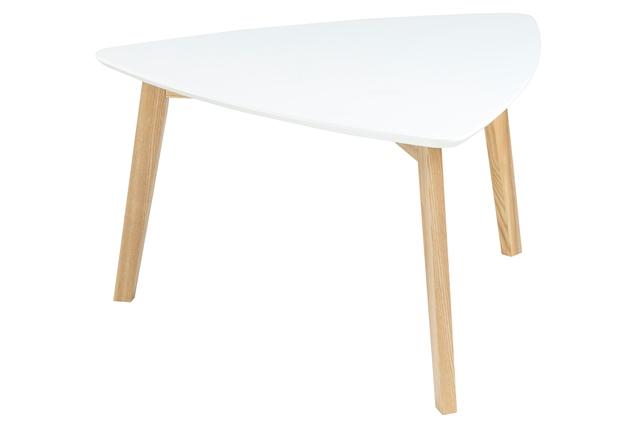 Billede af Vitis sofabord hvid 80 cm