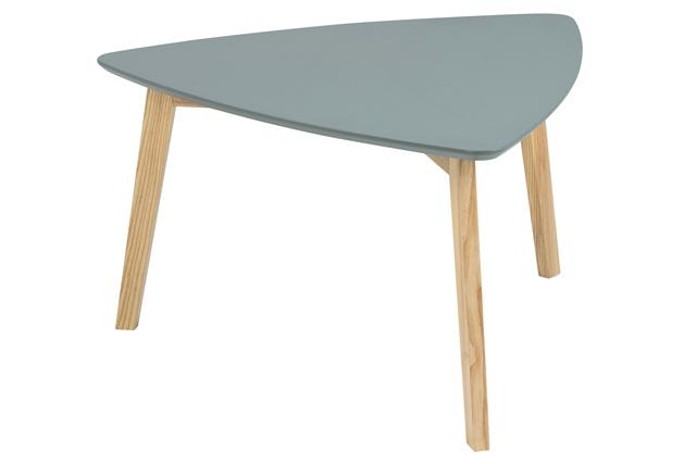 Vitis sofabord mørkegrå 80 cm