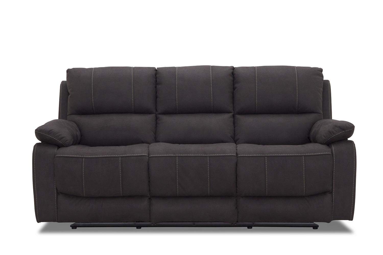 Haga texas 3 pers. recliner sofa - gråt stof fra haga gruppen på boboonline.dk