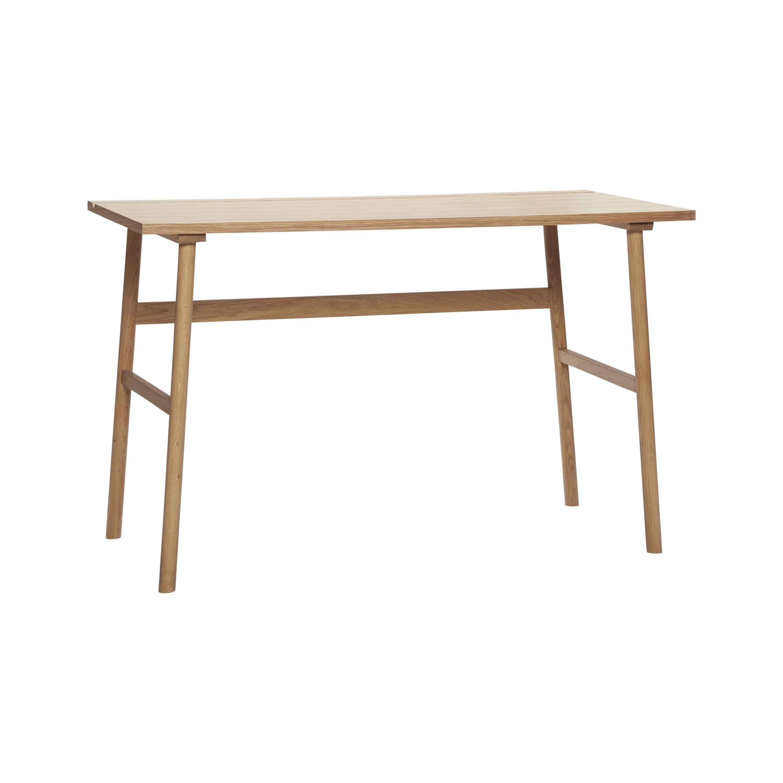hübsch – H?bsch skrivebord - egetræsfin?r fra boboonline.dk