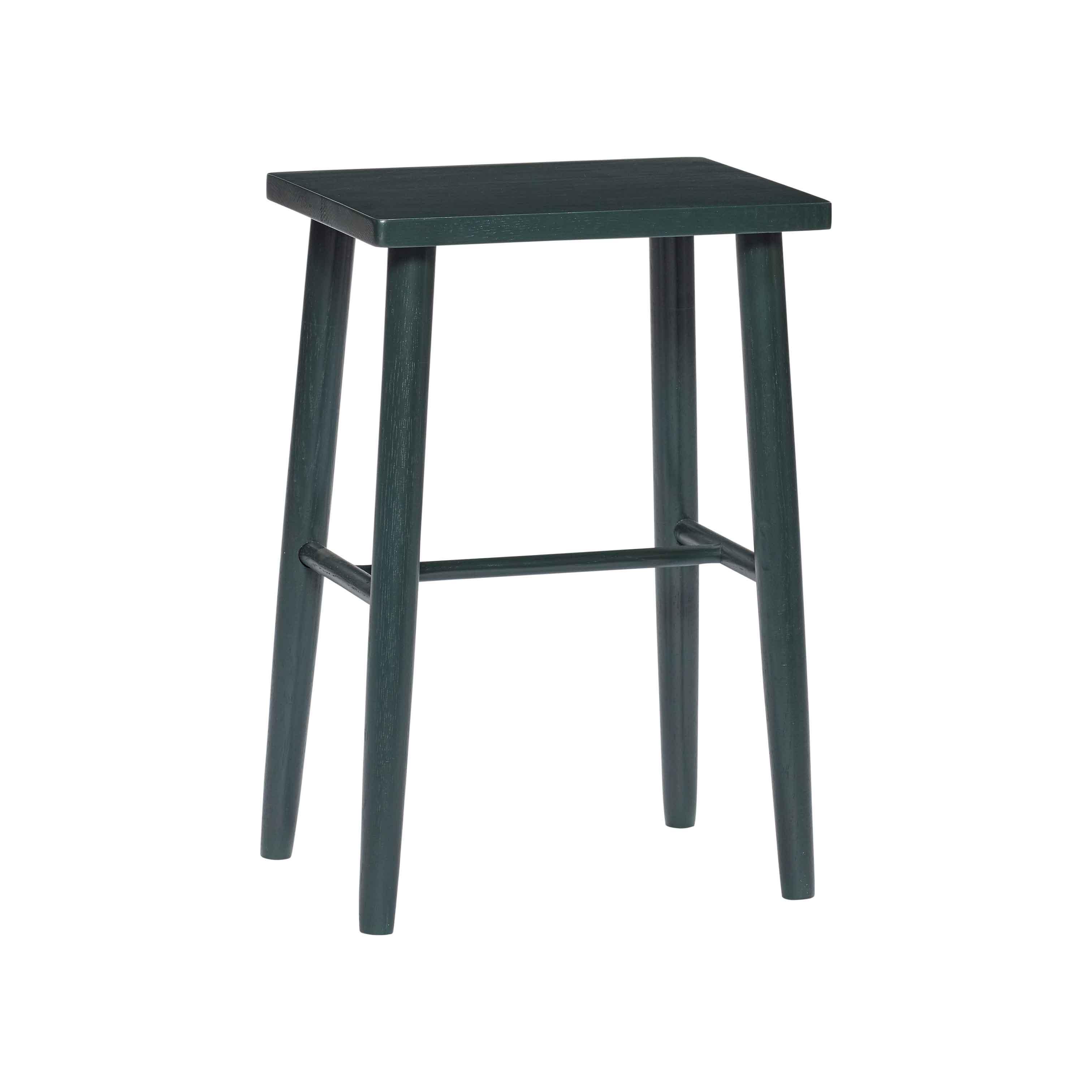 hübsch H?bsch barstol - grøn hvideg, rektangulær fra boboonline.dk