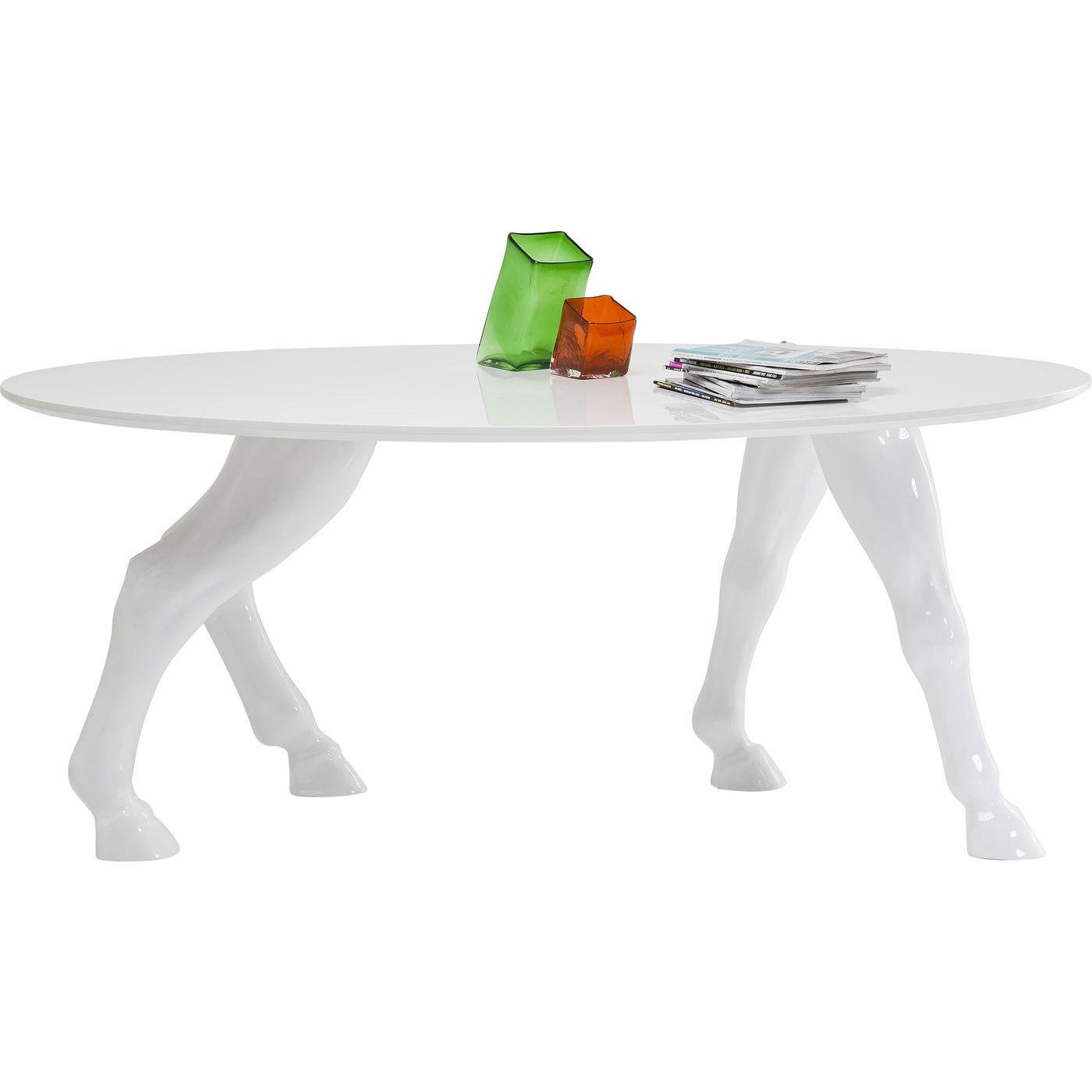Horseshoe spisebord, hvid thumbnail