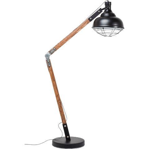 kare design Kare design rocky gulvlampe - fyrretræ og stål på boboonline.dk