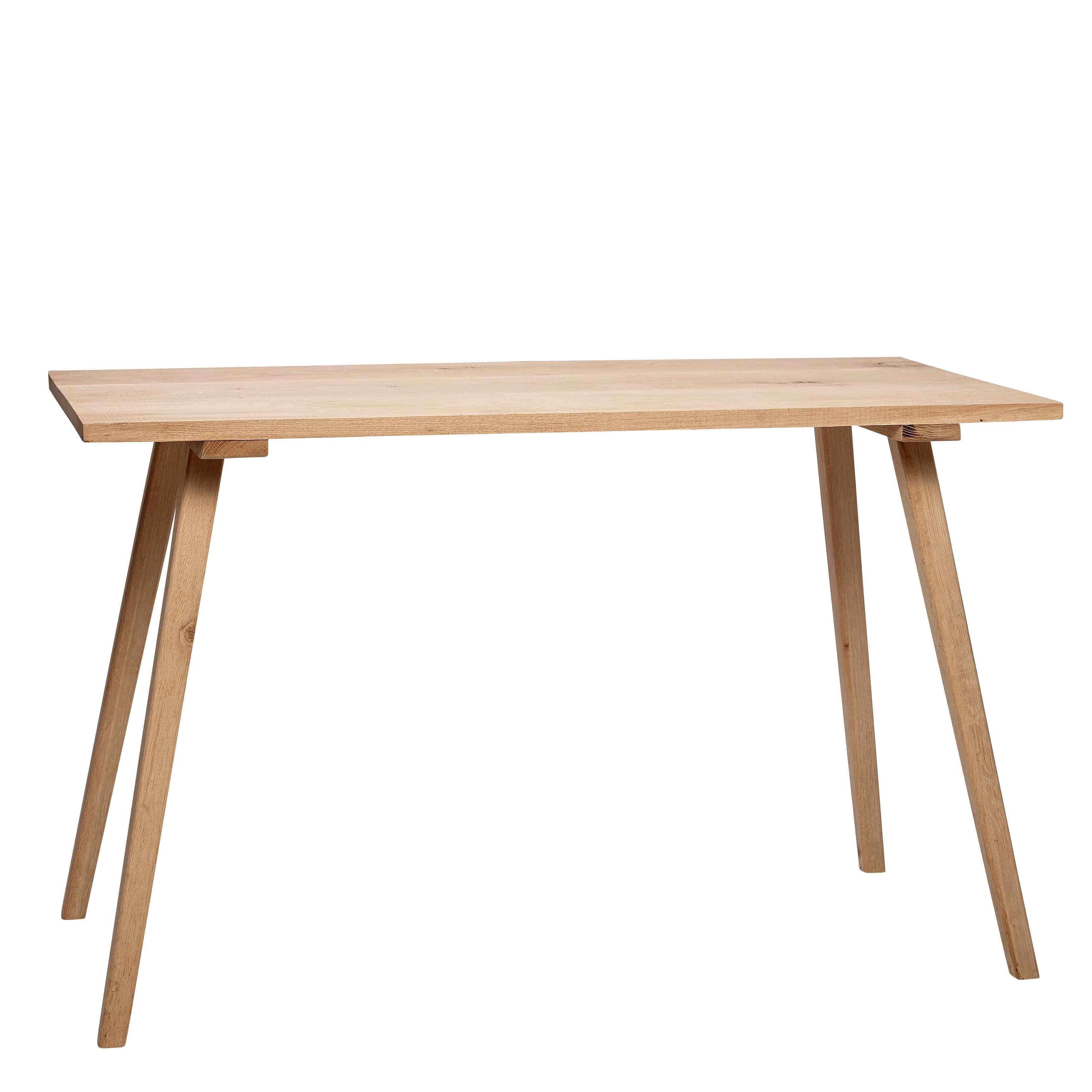 hübsch H?bsch spisebord - egetræ, finer (150x65) fra boboonline.dk