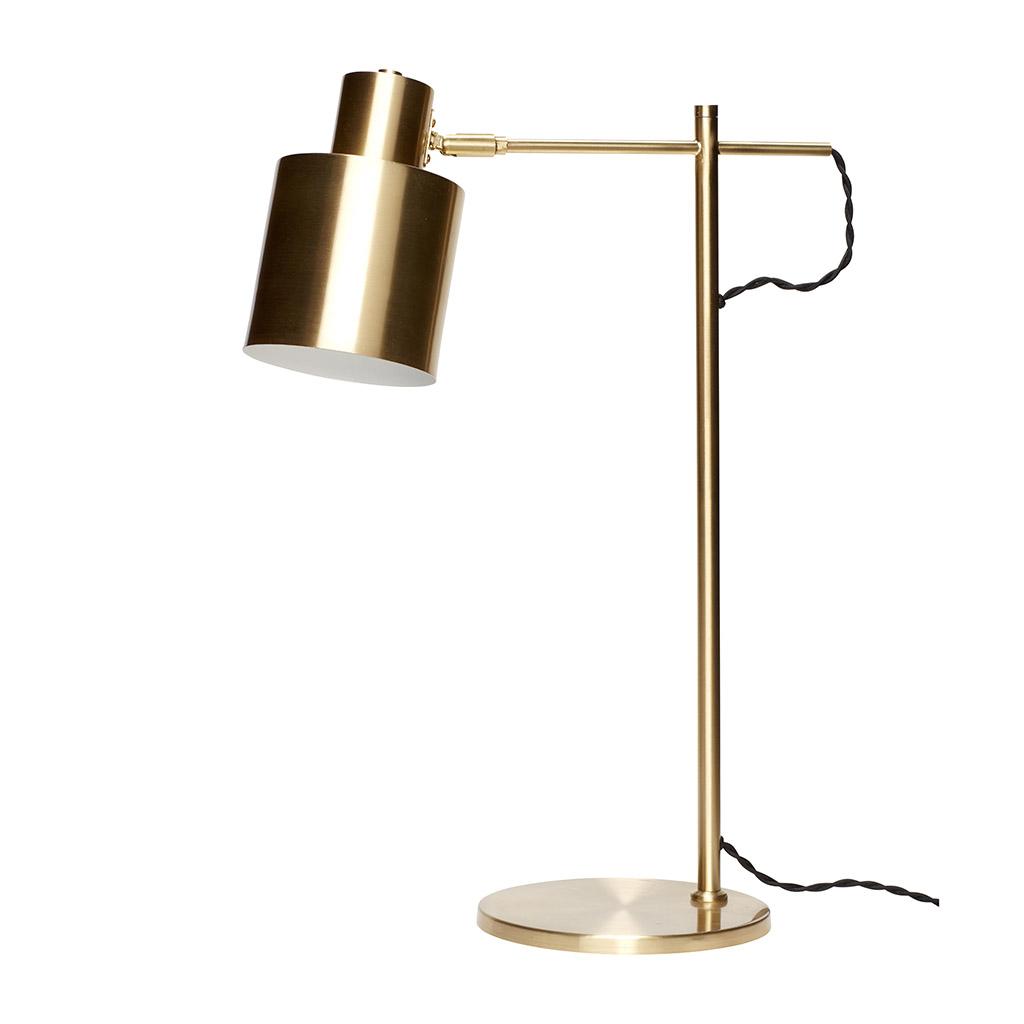Image of   Hübsch Bordlampe i messing