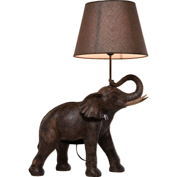 Image of   Elefant - bordlampe