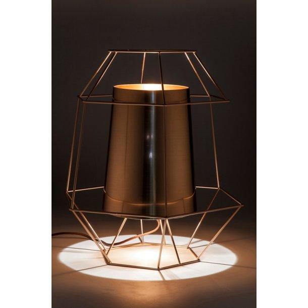 KARE DESIGN Wire Silver bordlampe - kobber stål og plast