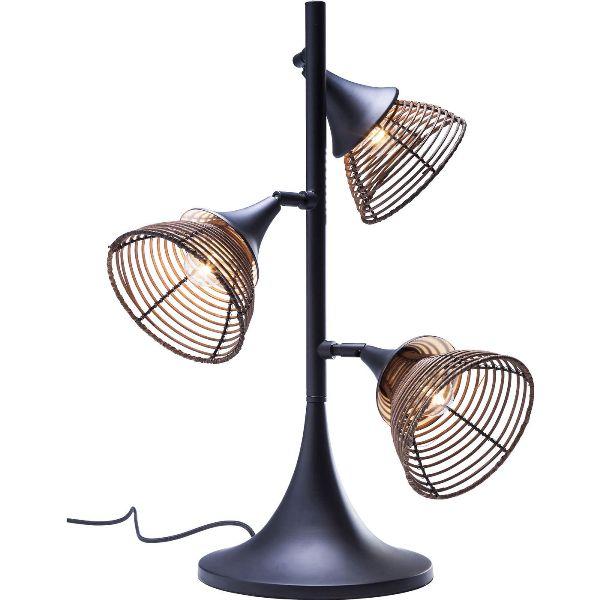 Image of   KARE DESIGN Rattan bordlampe