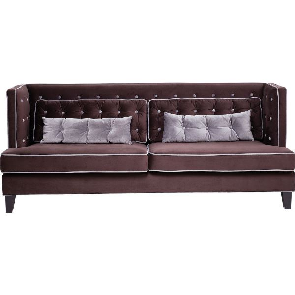 Image of   Denver Velvet - 3 pers sofa