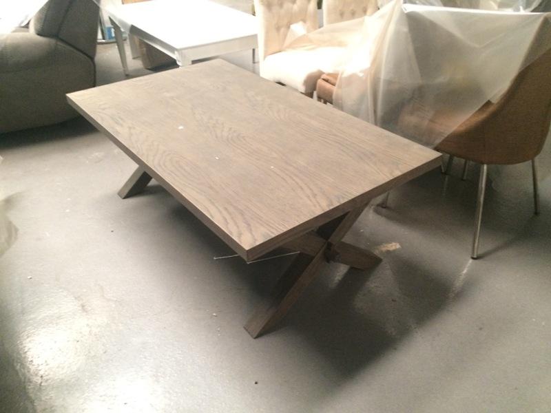 Sofabord mørk bejdset- UDSTILLINGSMODEL