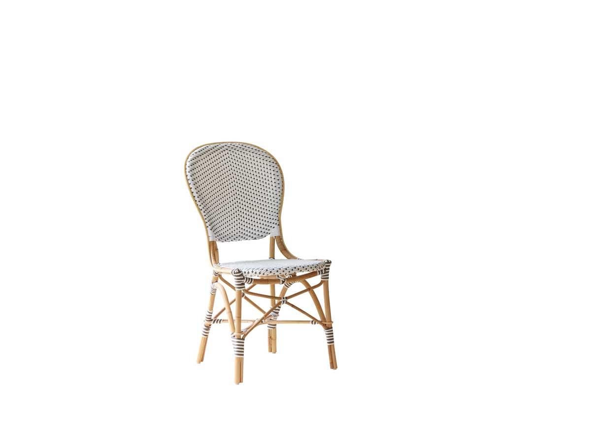 Image of   SIKA DESIGN Isabell stol u/armlæn - Hvid