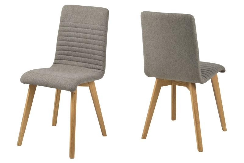 Image of   Arosa spisebordsstol lysegrå