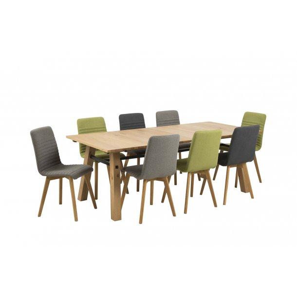 Arosa spisebordsstol grå