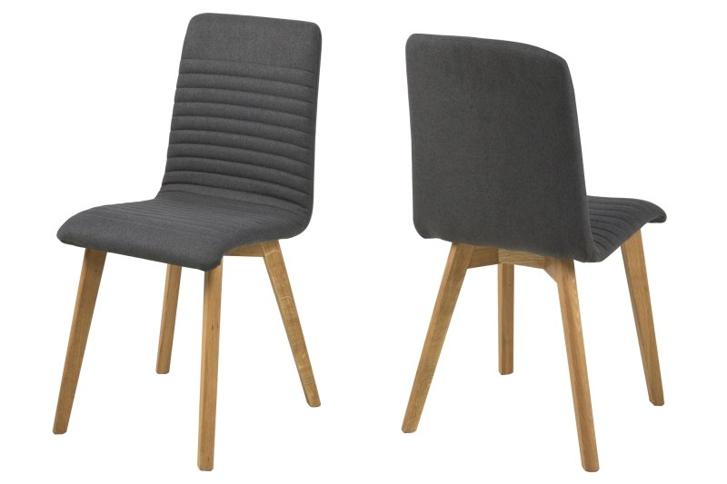 Billede af Arosa spisebordsstol grå