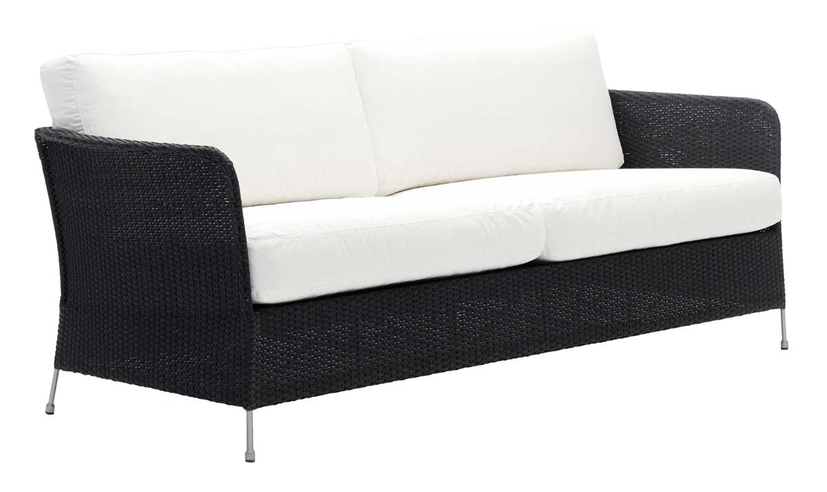 SIKA DESIGN Orion 3 pers. havesofa inkl. hynder - sort