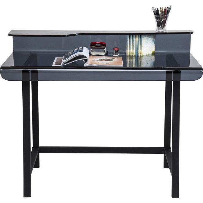 Image of   Synlig Grey Skrivebord