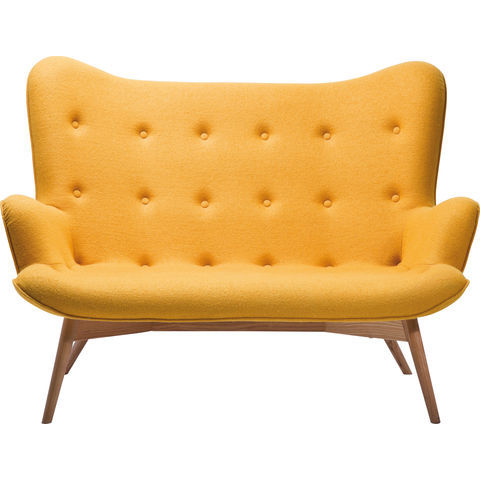 Image of   Angel Wings Yellow 2 pers. sofa