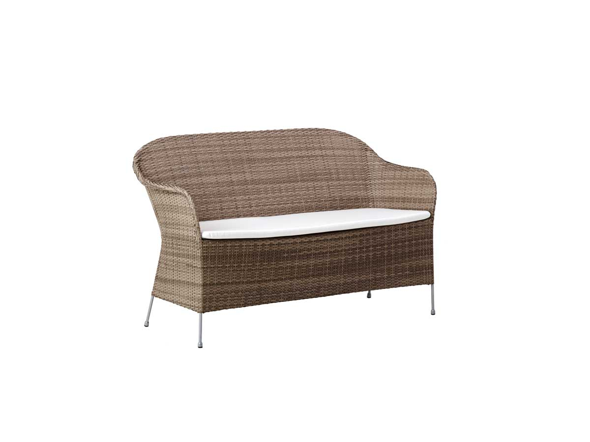 SIKA DESIGN Athene 2-pers. Havesofa inkl. hynder - Natur